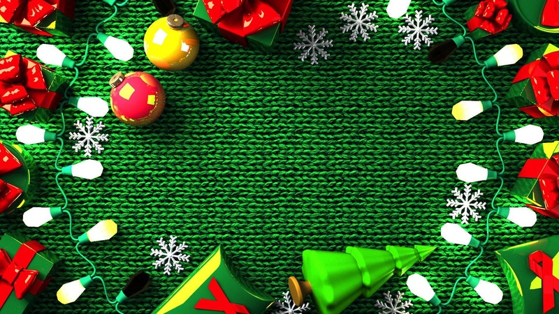 クリスマスCG動画&背景動画
